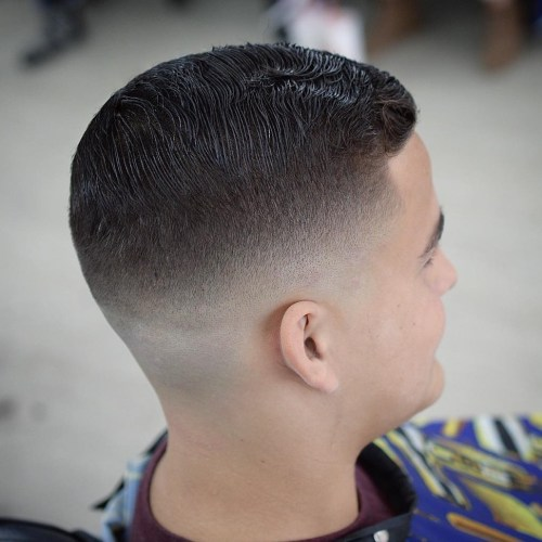 Haircut with Skin Fade
