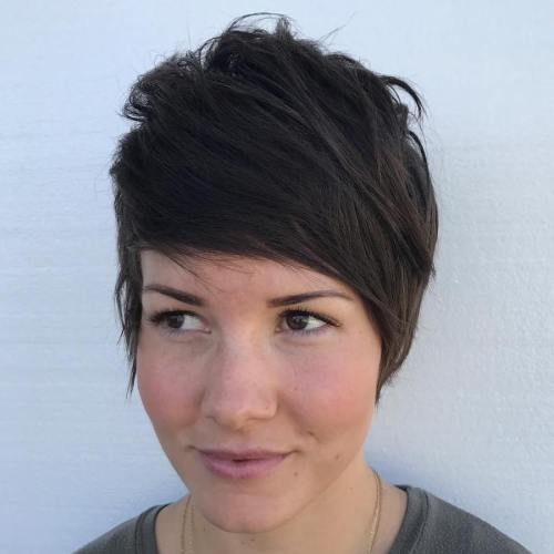 Layered Choppy Pixie Cut