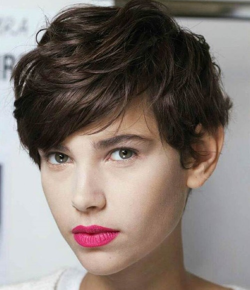 tousled long pixie