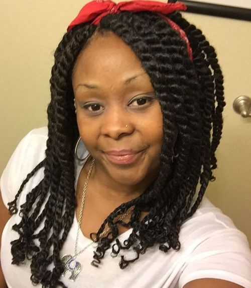 Chunky Twists With Curly Ends