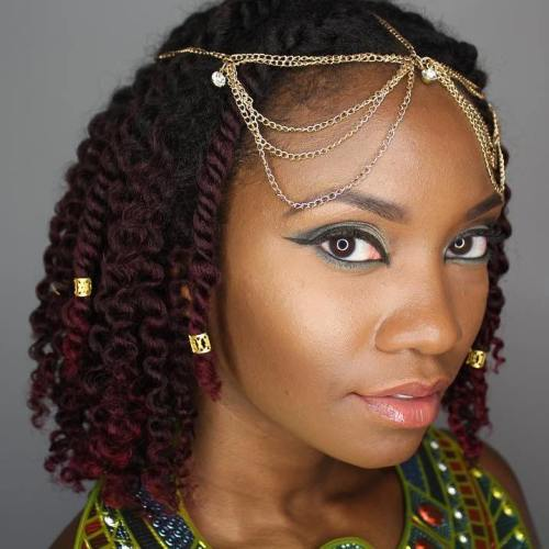 hot kinky twist hairstyles