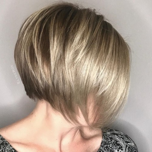 Short Choppy Chin-Length Bob