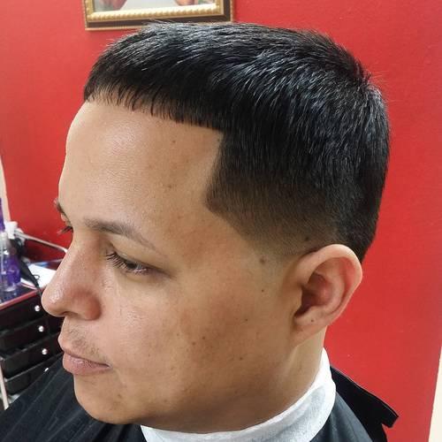 simple Caesar Haircut