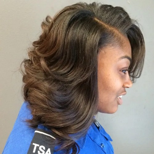 Magnificent Sew Hot 30 Gorgeous Sew In Hairstyles Short Hairstyles For Black Women Fulllsitofus