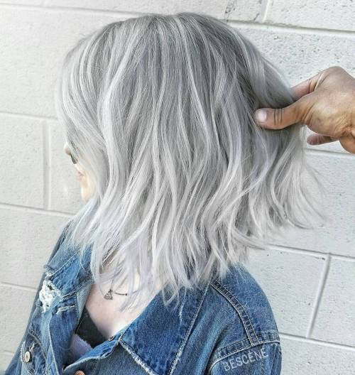 how to go white silver hair