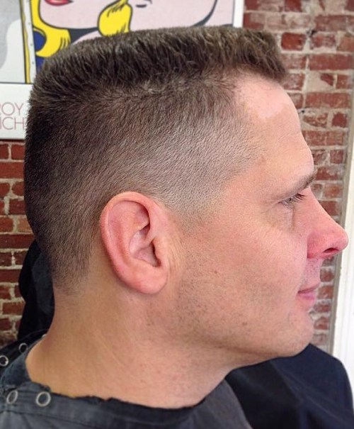 high and tight military haircut