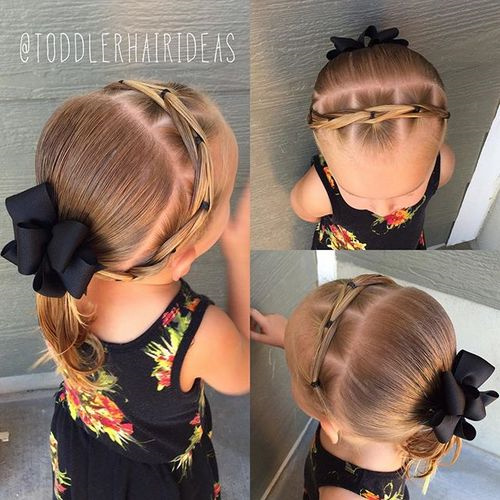 20 Adorable Toddler Girl Hairstyles