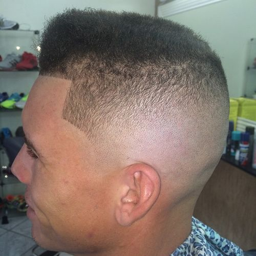 flat top men's haircut