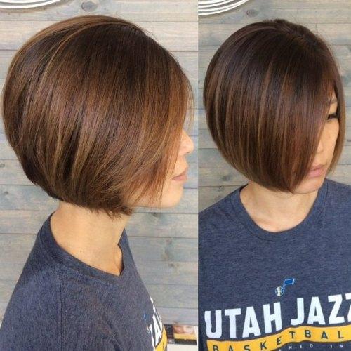 Sleek Jaw-Length Bob For Fine Hair