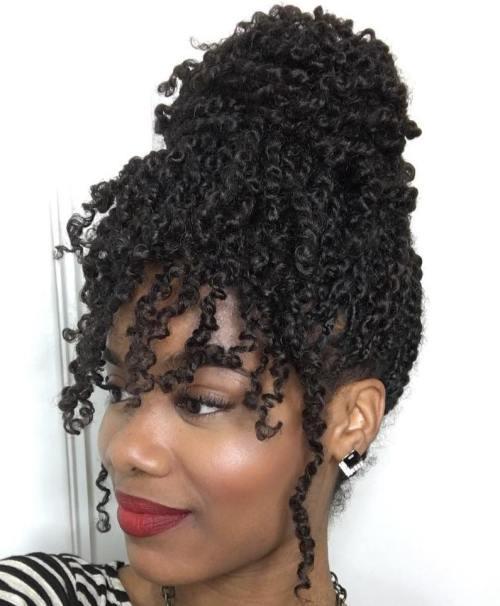 Awe Inspiring 30 Hot Kinky Twists Hairstyles To Try In 2017 Short Hairstyles Gunalazisus