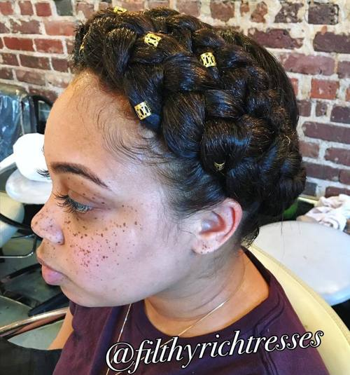 Fabulous 40 Inspiring Examples Of Goddess Braids Hairstyles For Women Draintrainus