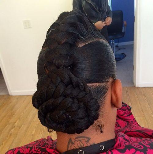 Sensational 40 Inspiring Examples Of Goddess Braids Hairstyles For Women Draintrainus