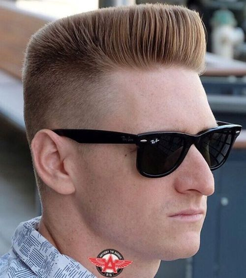 fab and cool flat-top haircuts