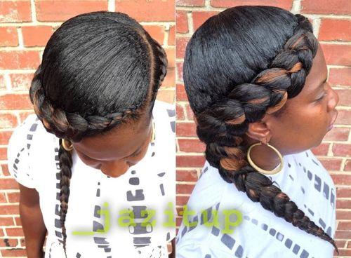 Superb 40 Inspiring Examples Of Goddess Braids Short Hairstyles For Black Women Fulllsitofus