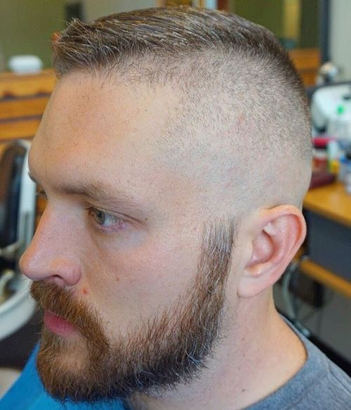 half shaved high and tight
