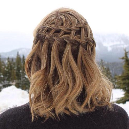 Double Waterfall Braid For Lob
