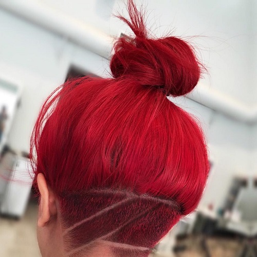 15 Easy And Pretty Top Knot Hairstyles