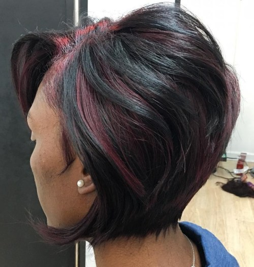 African American Stacked Bob