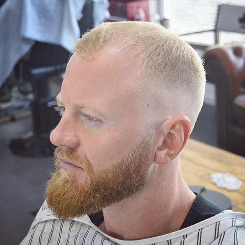 how to maintain buzz cut hairline