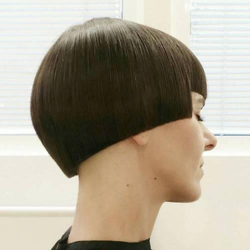 Blunt Mushroom Haircut