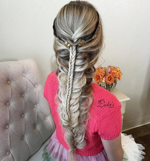 Triple Fishtail Downdo