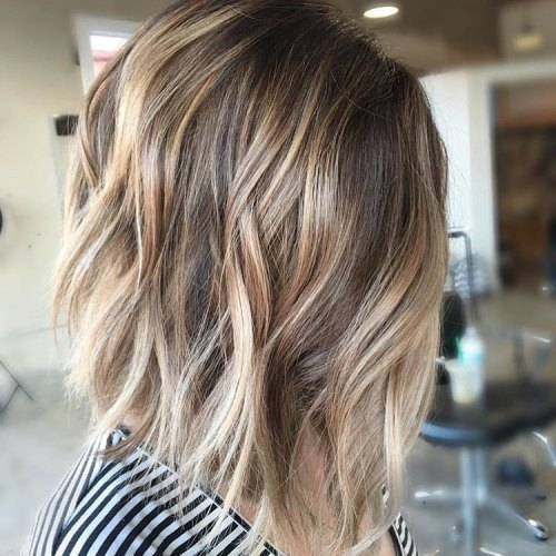 40 of the best bronde hair options for Balayage bob braun