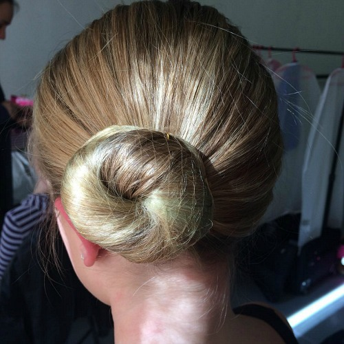 Sleek Side Bun