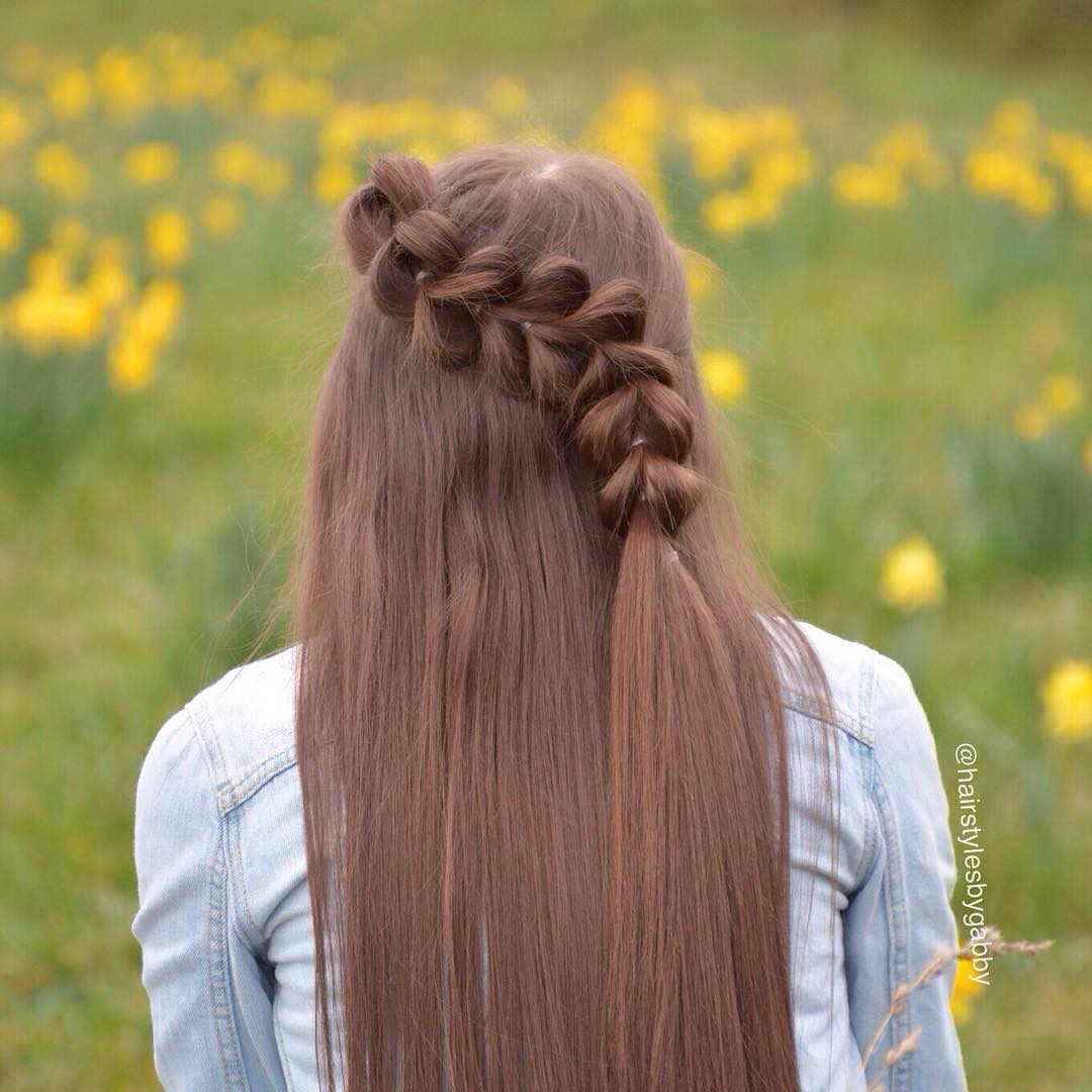 Curved Pull Through Braid