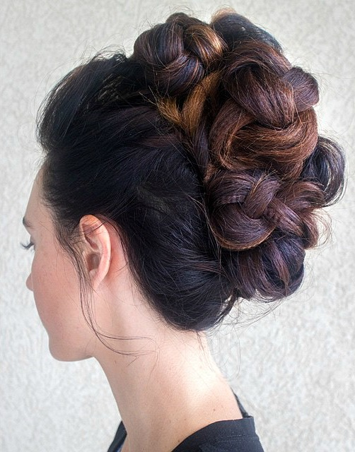 Intricate Braided Updo