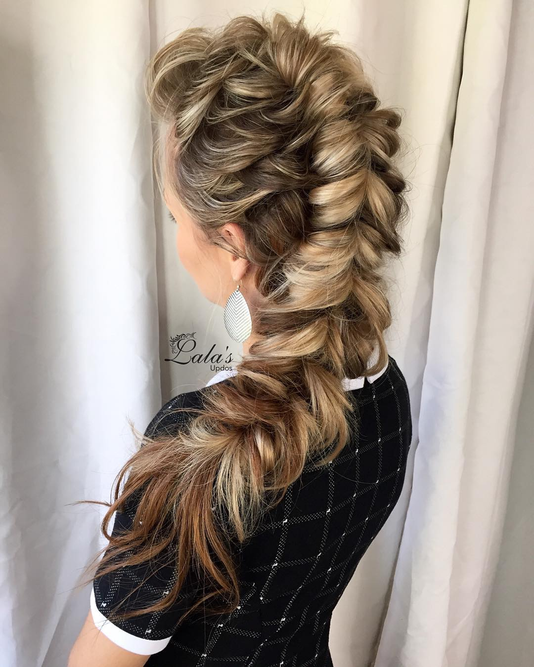 Mohawk Fishtail Braid