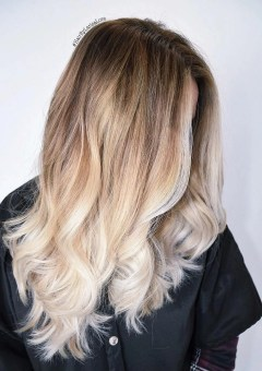 Long Blonde Beach Waves