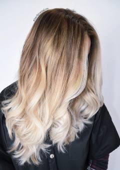 Long Blonde Beach Waves