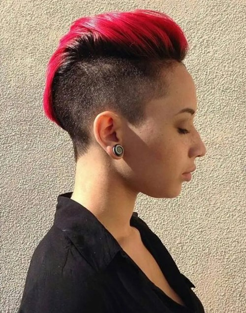 womens mohawk haircuts 20 bright hairstyles that sizzle 5218