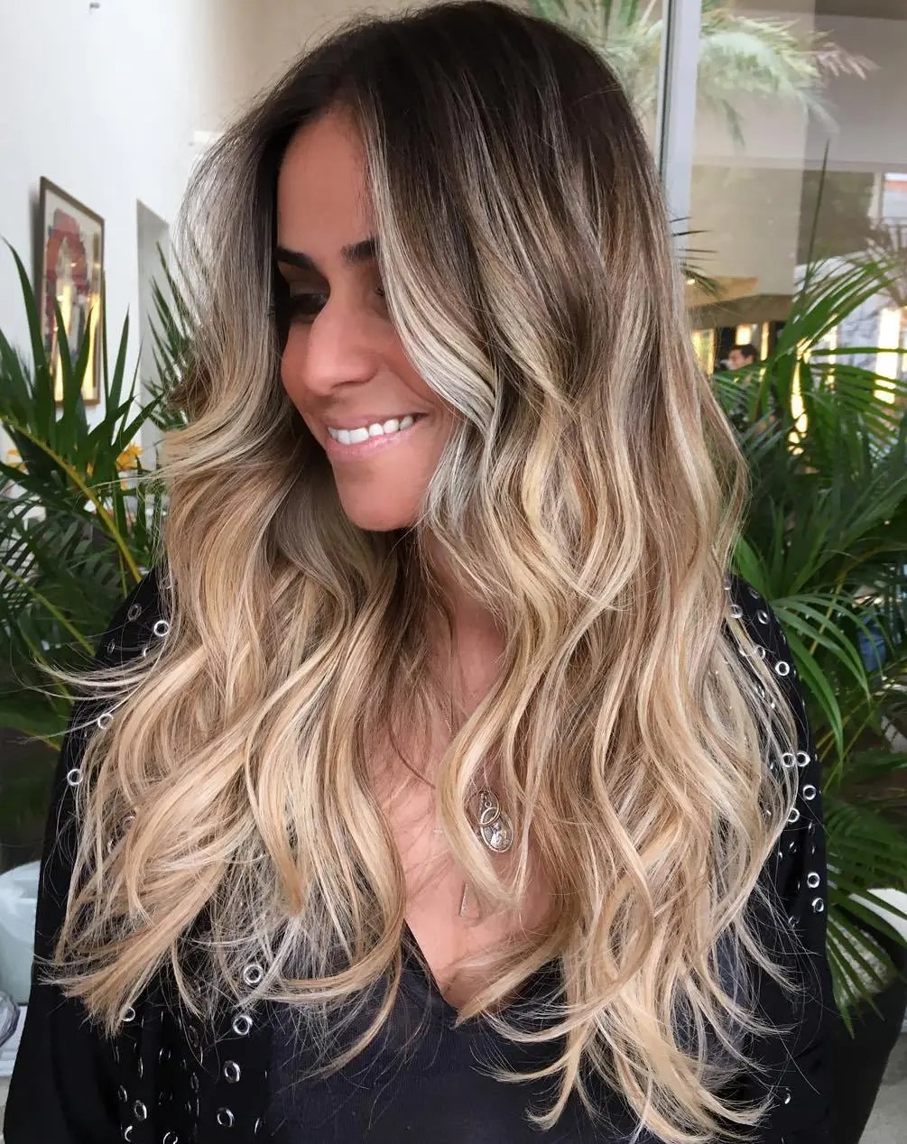 Long Beach Waves For Ombre Hair