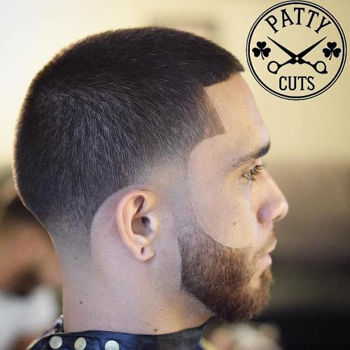 Line Up With Faded Temples And Nape