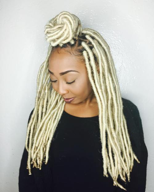Blonde Crochet Dreads
