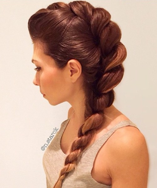 Rope Braid Hairstyles 20 Cute Ideas For 2019