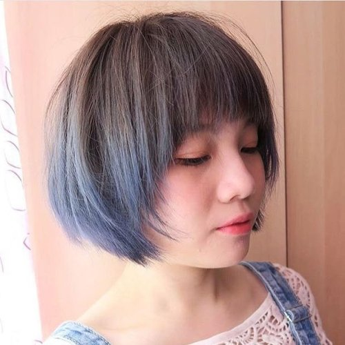 Textured Pageboy Haircut