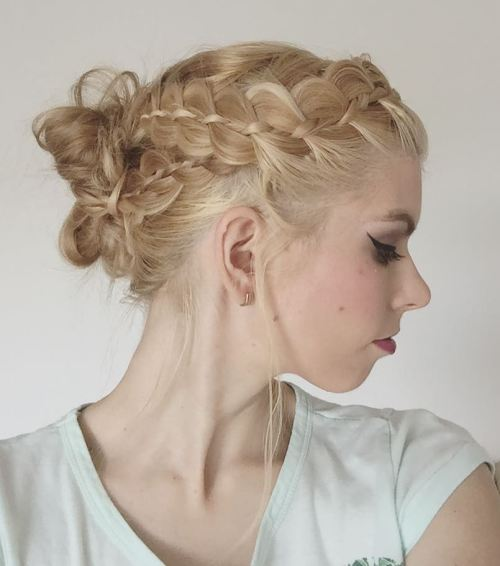Headband Accent Braids