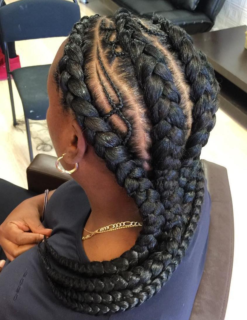 20 Gorgeous Ghana Braids For An Intricate Hairdo In 2017