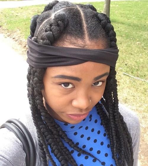 Fabulous 20 Eye Catching Ways To Style Dookie Braids Hairstyles For Women Draintrainus
