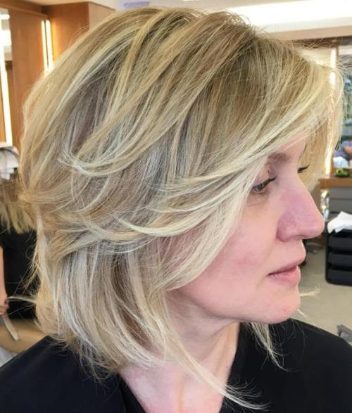 mid length haircuts for women 20 and flattering medium hairstyles for of all ages 2311 | 3 blonde layered bob