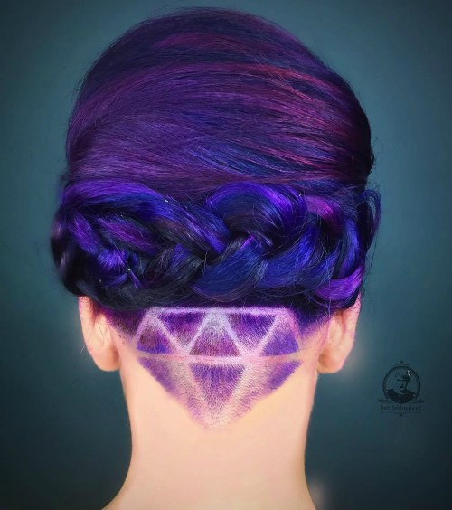 Pink And Purple Mermaid Hair: 20 Blue And Purple Hair Ideas
