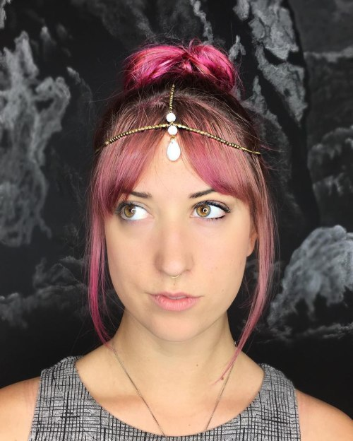 Indian Head Chain Hair Jewelry
