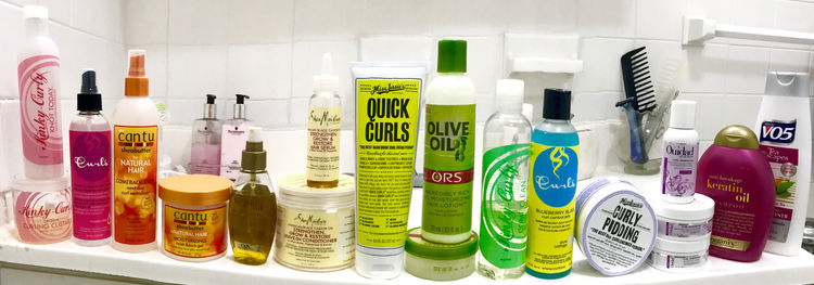 haircare lines for curly hair