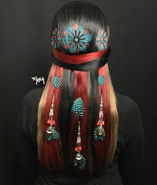 Dreamcatcher Hair Tat