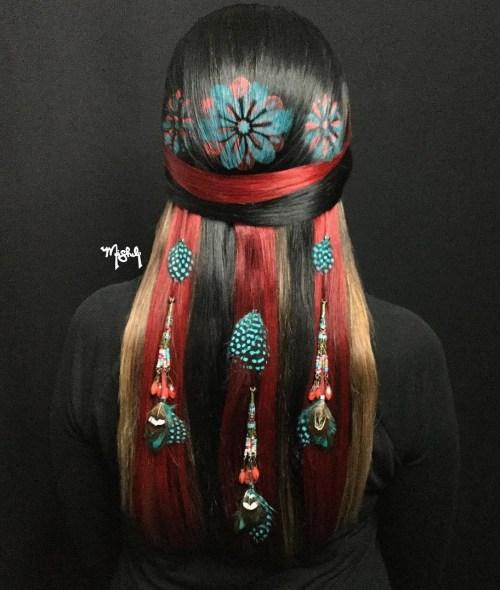 Dreamcatcher Hair Tat