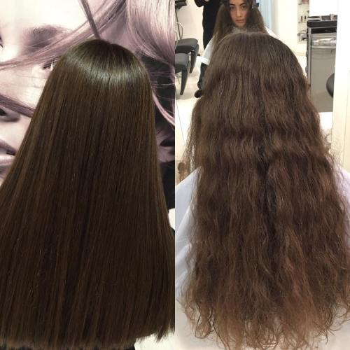 difference between hair smoothing and straightening treatment