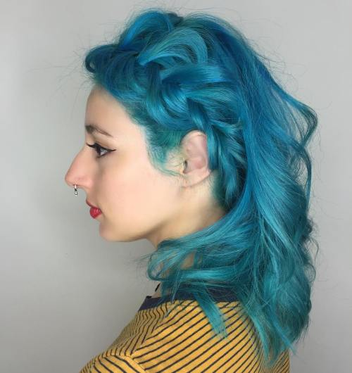 30 Icy Light Blue Hair Color Ideas for Girls - photo #7