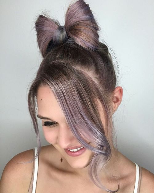 Bow Updo For Girls